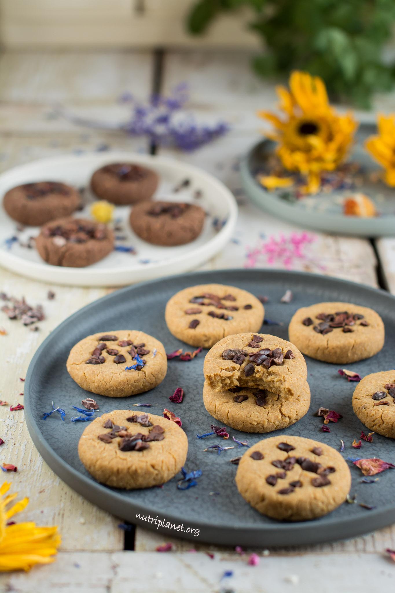 Vegan neljapäev - Kikerherneküpsised kakaonibsidega