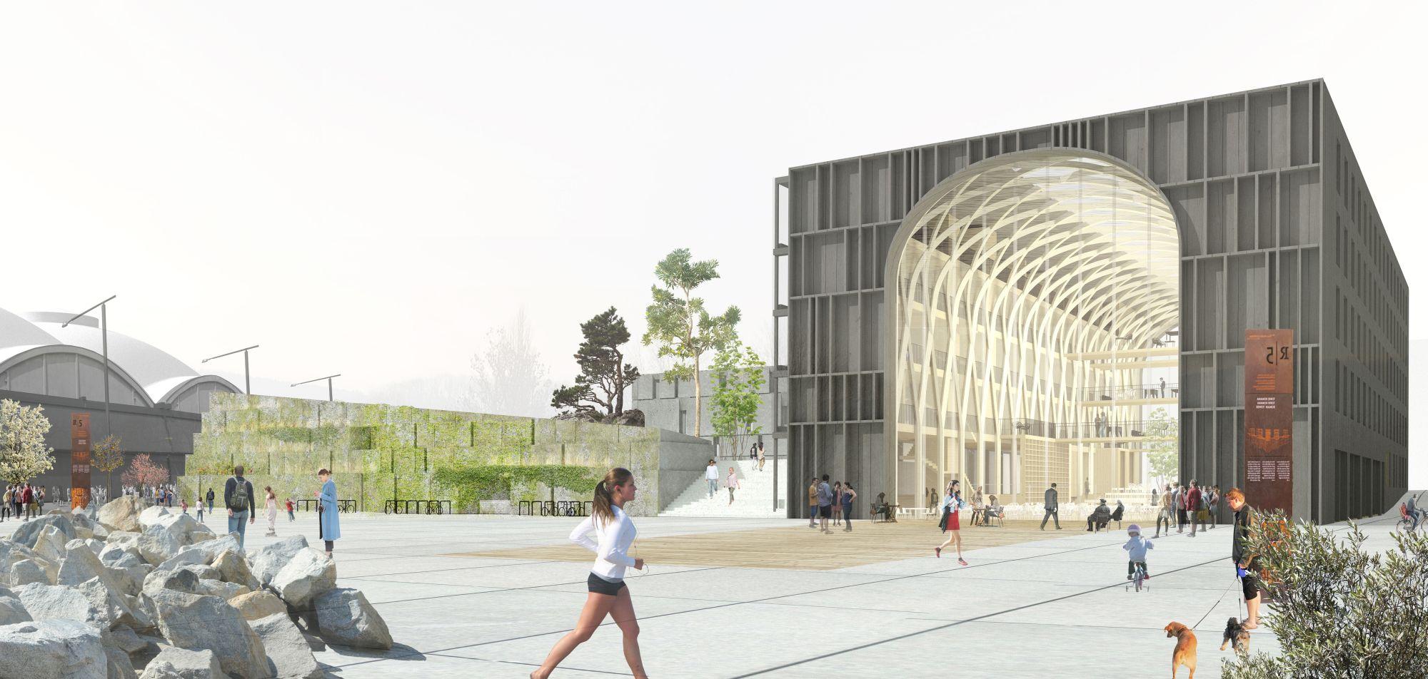 Eesti uus planeeritav Keskkonnamaja hakkab välja nägema selline