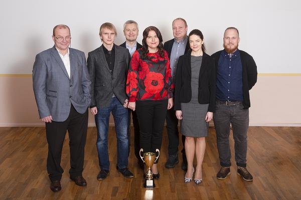 """Foto: EGT  """"Aasta tegu 2018"""" meeskond"""