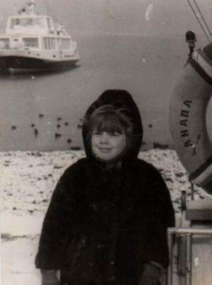 Katrin 7-aastasena
