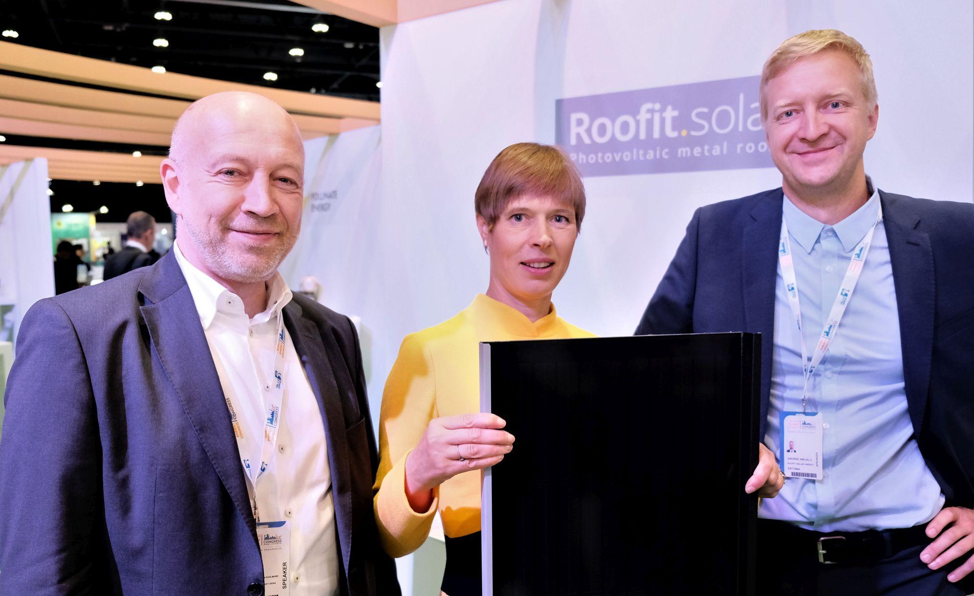 Roofit.solar pääses 100 maailma parima energeetika start-up´i hulka
