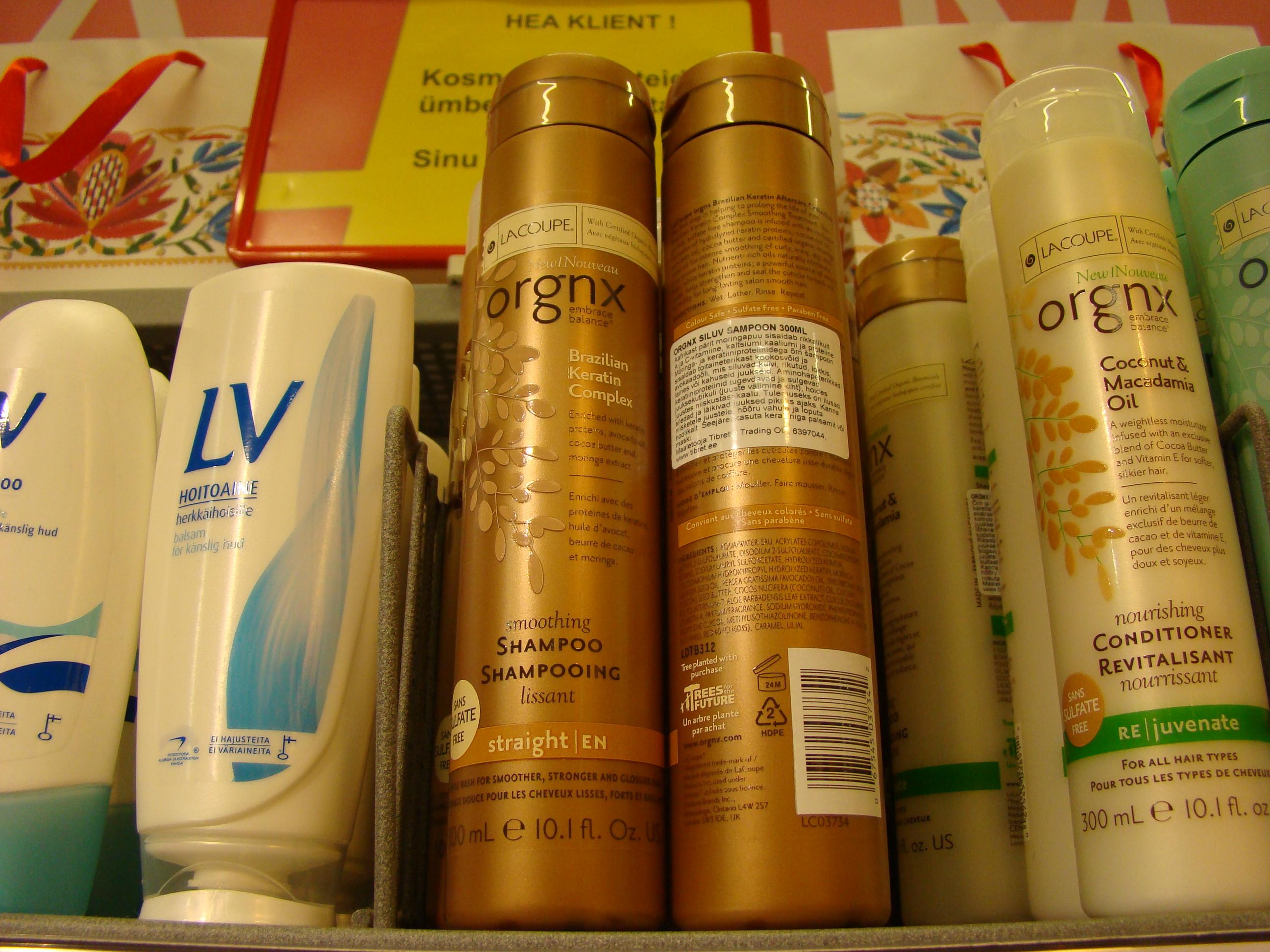 La Coupe Orgnx šampoonid