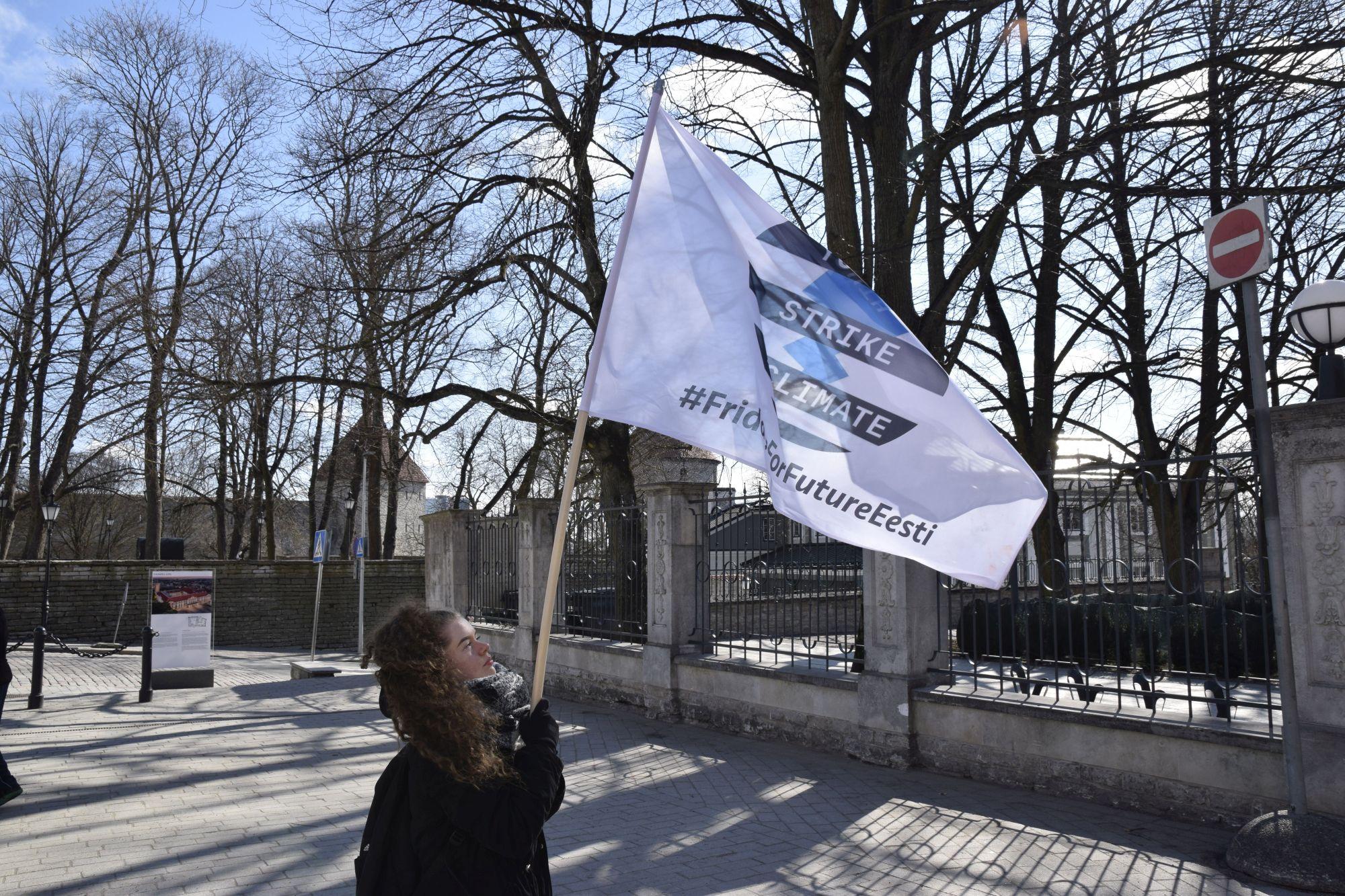 Noorte marss 24. mail juhib tähelepanu kliimaprobleemide tähtsusele