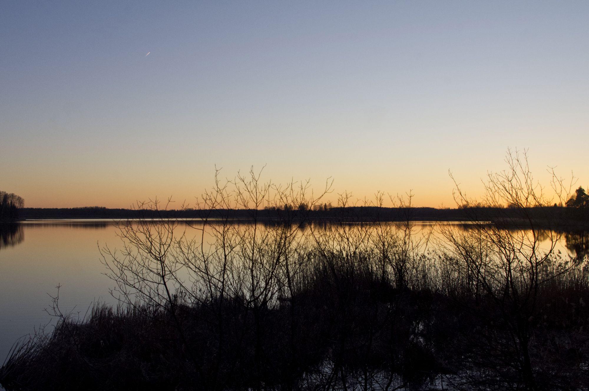 Õhtune vaade Jõemõisa järvele. Foto: Kadri Prants