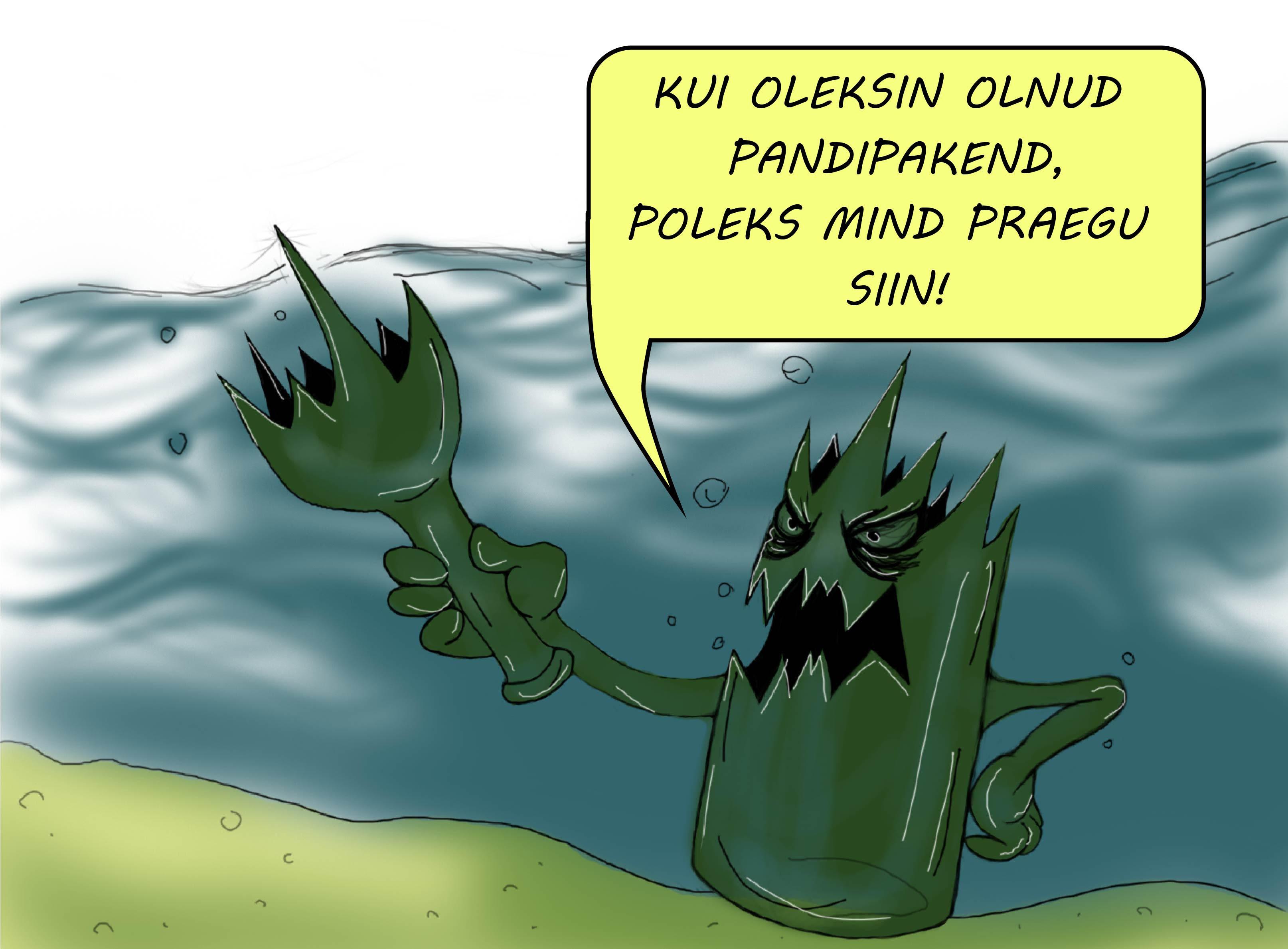 Airi Astmäe karikatuur
