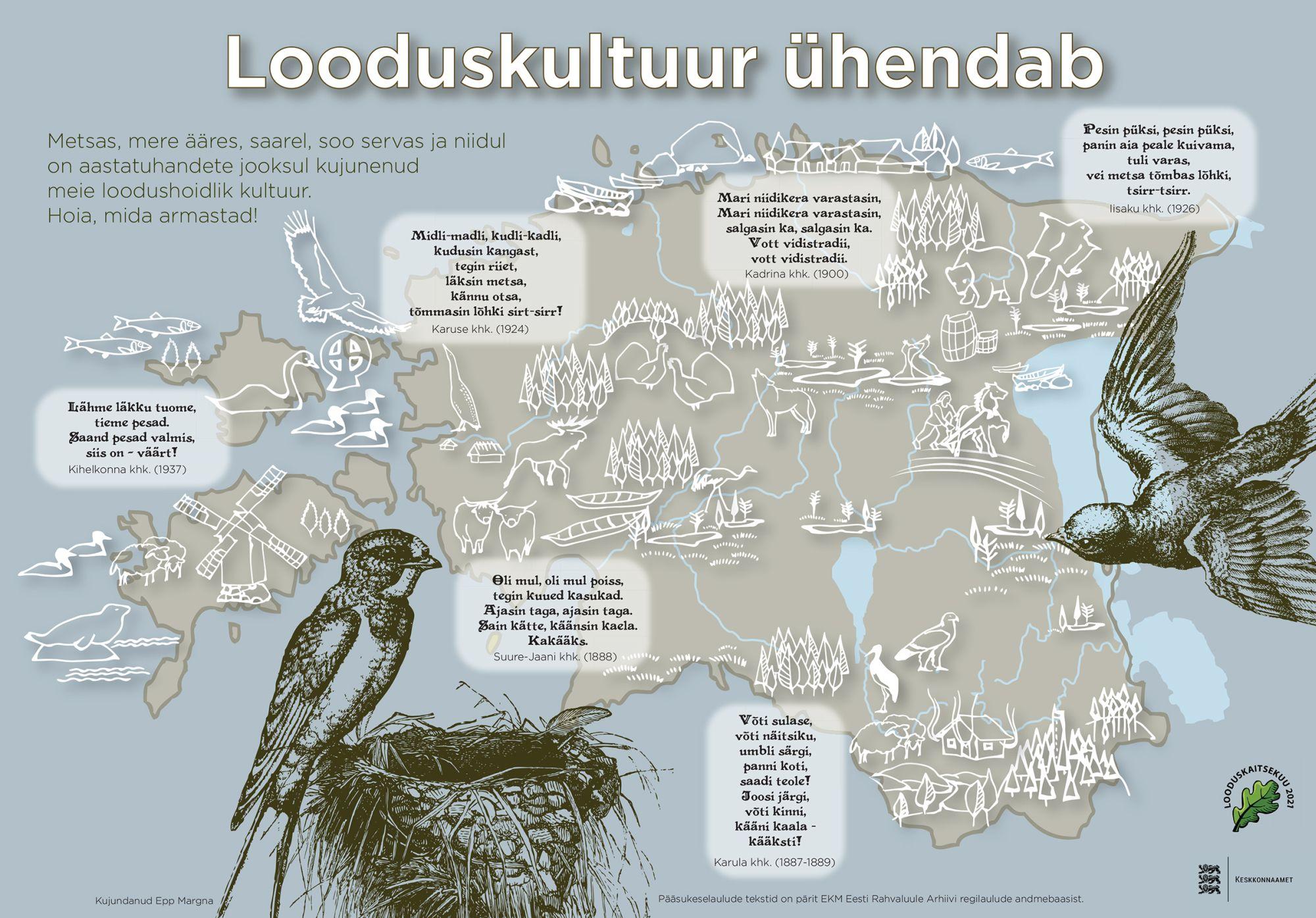 Alanud looduskaitsekuul on tähelepanu looduskultuuril