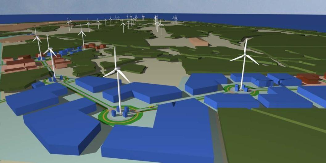 PAKRI Teadus- ja Tööstuspark plaanib rajada 75 megavati suuruse, tuulikutest ja päikeseparkidest koosneva taastuvenergia kompleksi