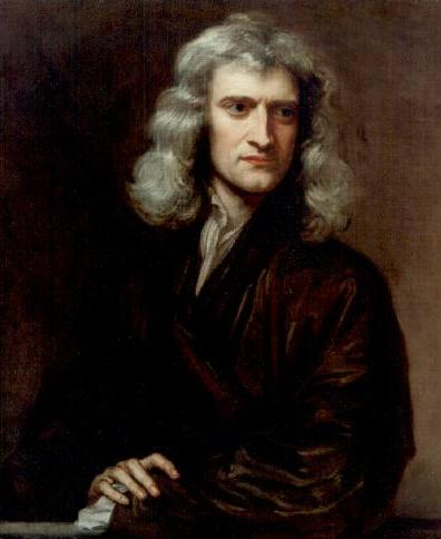 Sir Isaac Newton, maalis Godfrey Kneller (phys.uu.nl/~vgent/astrology/images/newton1689.jpg], avalik omand, commons.wikimedia.org/w/index.php?curid=14643)1