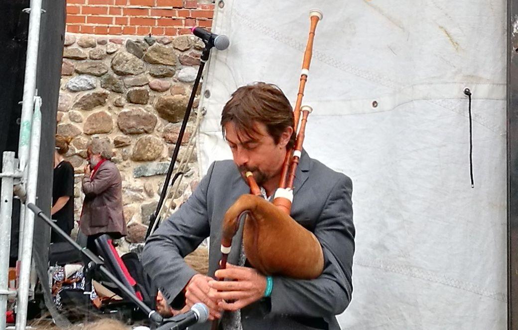 Flaami flöödi- ja torupillimängija Stefan Timmermans