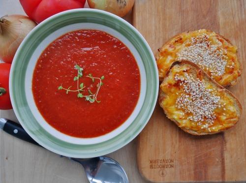 Vegan neljapäev - Vürtsikas tomatisupp
