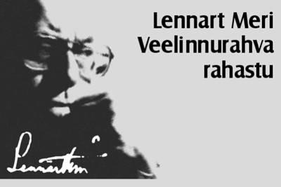 Lennart Meri Veelinnurahva rahastu stipendiumikonkurss 2020
