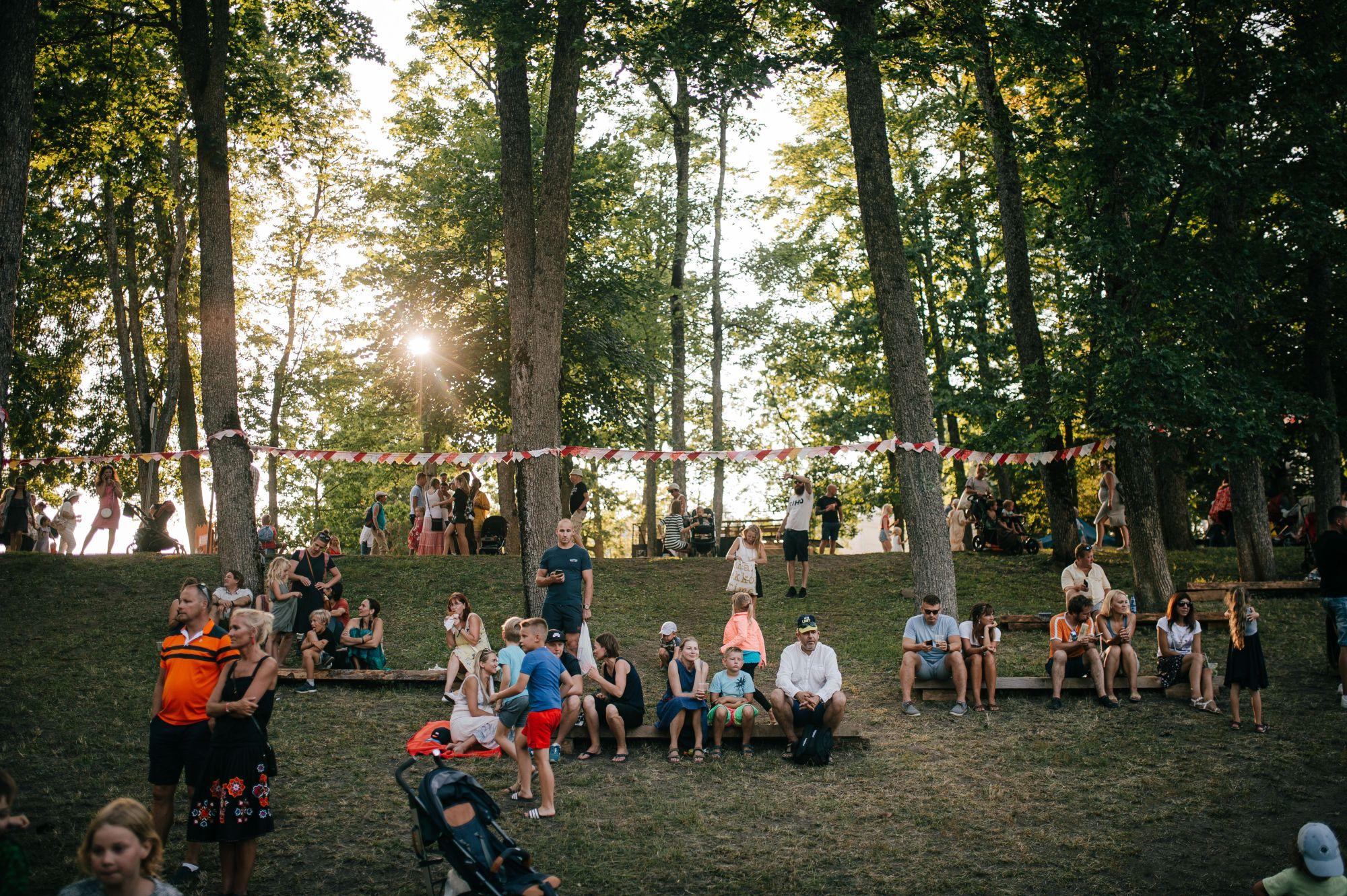 Foto: Festivali melu. Silver Tõnisson
